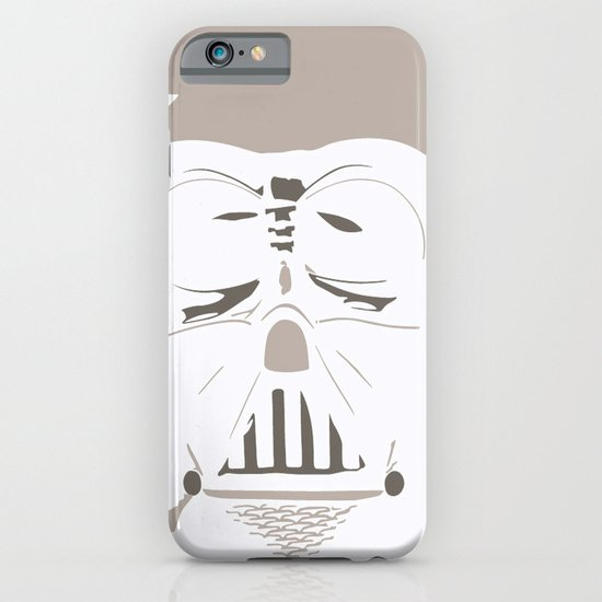 Ghost Darth Vader iPhone & iPod Case