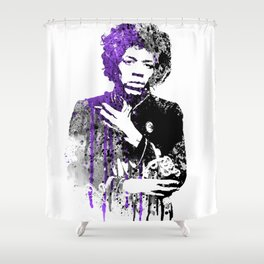 PURPLE HAZE / JIMI Shower Curtain