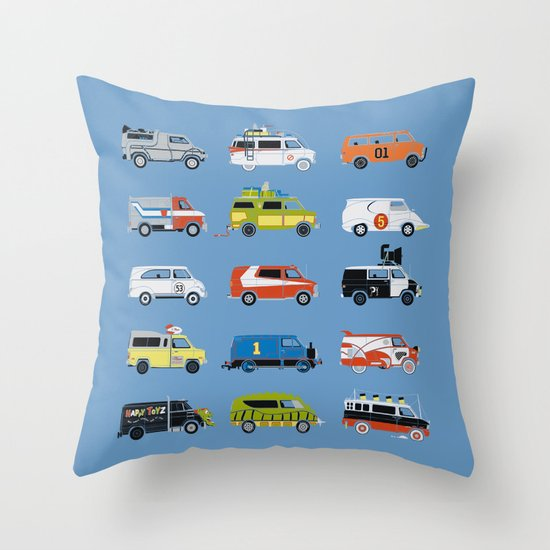 It Would Have Been Cooler as a Van Throw Pillow
