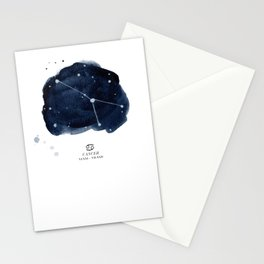 Zodiac Star Constellation - Cancer Stationery Cards