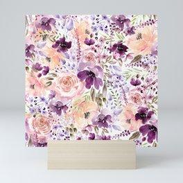 Floral Chaos Mini Art Print