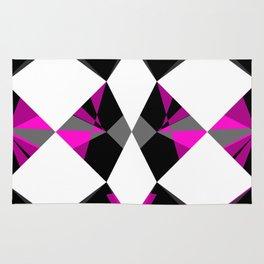 Gemstones Geometric Pink Rug