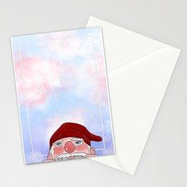 Naso in sù Stationery Cards