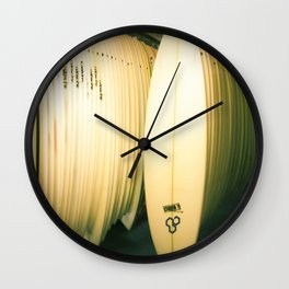 Surf Co Wall Clock