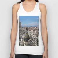 madrid Tank Tops featuring Madrid Espana by Eduardo Doreni