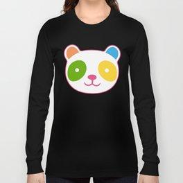 Rainbow Panda Long Sleeve T-shirt
