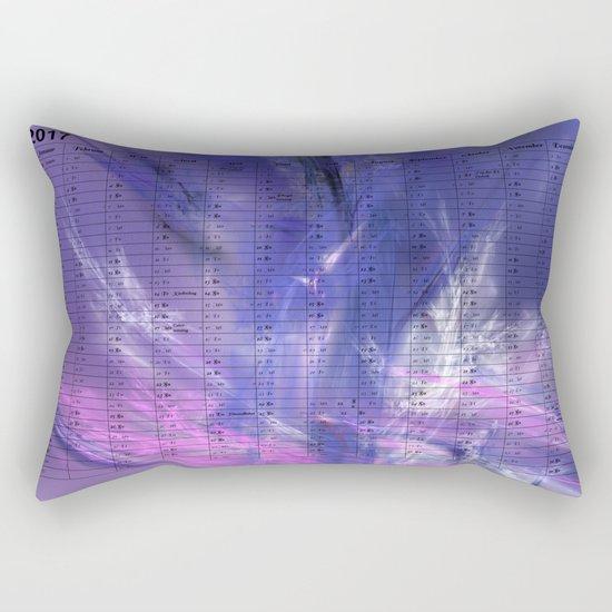 Kalender 2017 Ice Rectangular Pillow