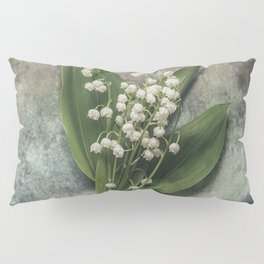 Beautiful Lily Of The Valley Pillow Sham