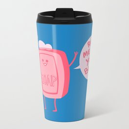 Lil' Soap Metal Travel Mug