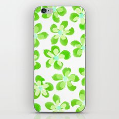 Posey Power - Electric Lime Multi iPhone & iPod Skin