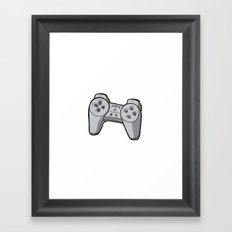Playstation controller Framed Art Print