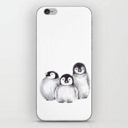 Baby Penguins iPhone Skin