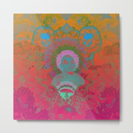 Psychoactive Metal Print