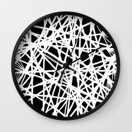 See-Through Star Negative Wall Clock