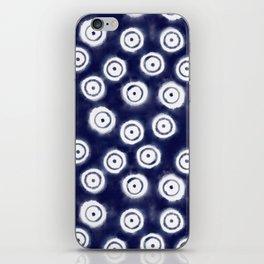 Shibori Rings #society6 #shibori iPhone Skin