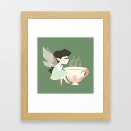 Tea Fairy Framed Art Print