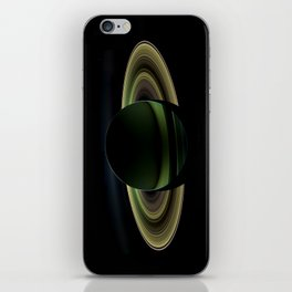 Glorious view of Saturn iPhone Skin
