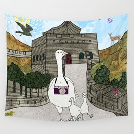 Peking duck1 Wall Tapestry