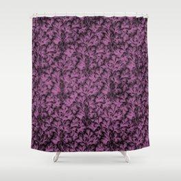 Vintage Floral Lace Leaf Bodacious Shower Curtain