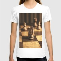 chess T-shirts featuring Chess by Janelle