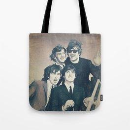 Beatle - John, Paul, George, and Ringo Tote Bag