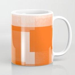 Modern Abstract No. 23 | Orange Coffee Mug