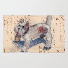 Chenille Dog Rug