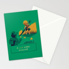 a wild link appeared Stationery Cards
