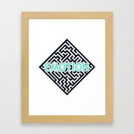 Emotion Framed Art Print