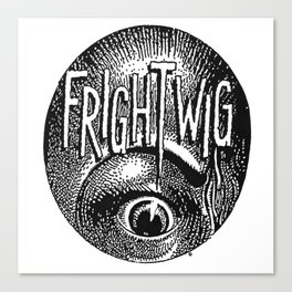 Frightwig merch Canvas Print