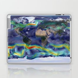 A Portrait of Global Winds Laptop & iPad Skin