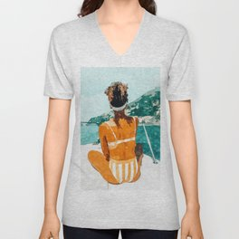 Solo Traveler Unisex V-Neck