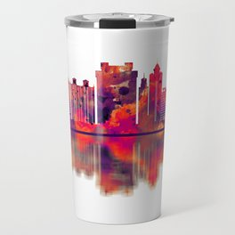 Bengaluru Karnataka Skyline Travel Mug