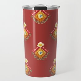 Waffles and Bacon (Red Rover Red Rover) Travel Mug