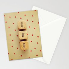Love You Baby Stationery Cards