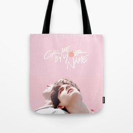 Call Me By Your Name Pink Tote Bag