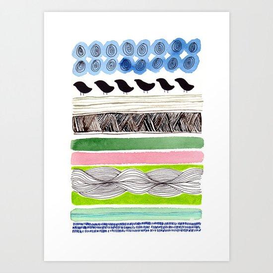 Pattern / Nr. 2 Art Print