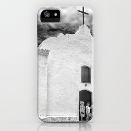 Church Black and White iPhone Case