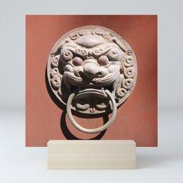 Chinese Door Knocker Mini Art Print