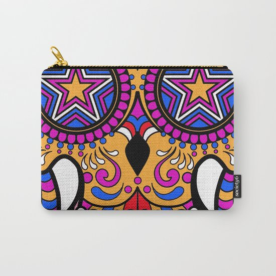 Sugar Skull #1 Carry-All Pouch