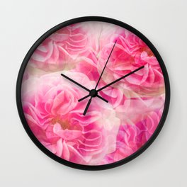 Roses In Pink Tones #decor #society6 #buyart Wall Clock