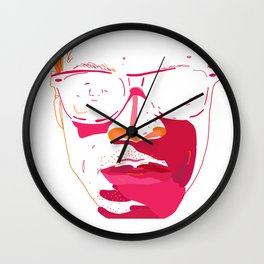 Zebra_Katz ANALOG zine Wall Clock