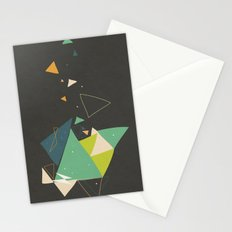 Exploding Triangles//Six Stationery Cards