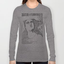 La fille et le ciel Long Sleeve T-shirt