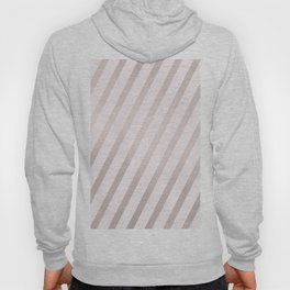 Rose Gold and Pink Diagonal Stripes Hoody