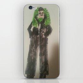 Cybergoth Ted iPhone Skin