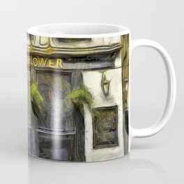 The Mayflower Pub London Van Gogh Coffee Mug
