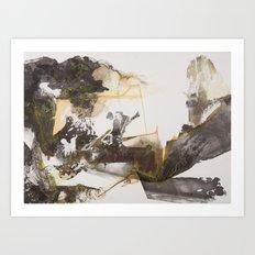 Funeral Chant (Shovel) Art Print