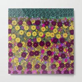Floral Dancing In the air Metal Print