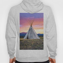 Southwest Sunset with Teepee Hoody